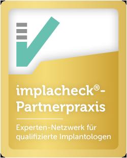 Siegel Implacheck Partnerpraxis
